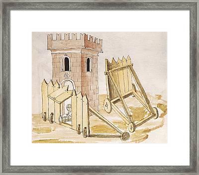 Valturio, Roberto 1405-1475. De Re Framed Print by Everett