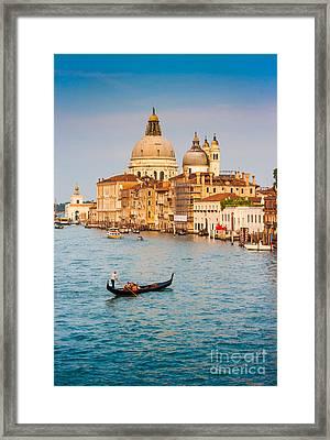 Venice Sunset Framed Print