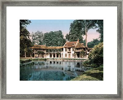 Versailles Petit Trianon Framed Print by Granger
