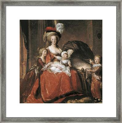 Vigee-lebrun, Elisabeth 1755-1842 Framed Print by Everett