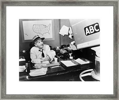 Walter Winchell (1897-1972) Framed Print