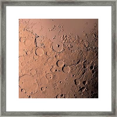 Water On Mars Framed Print