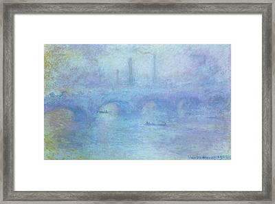 Waterloo Bridge Framed Print