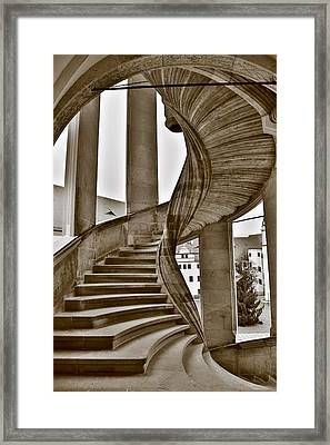 Wendelstein Torgau Framed Print by Falko Follert