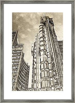 Willis Group And Lloyd's Of London Art Framed Print