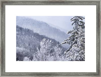 Winter Highland Scenic Highway Framed Print by Thomas R Fletcher