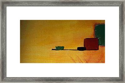 Without Name Framed Print by Sir Josef - Social Critic -  Maha Art