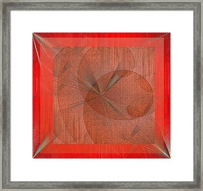 Framed Print featuring the digital art Wonder by Iris Gelbart