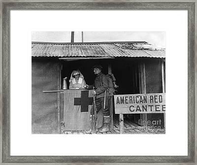 World War I: Red Cross Framed Print