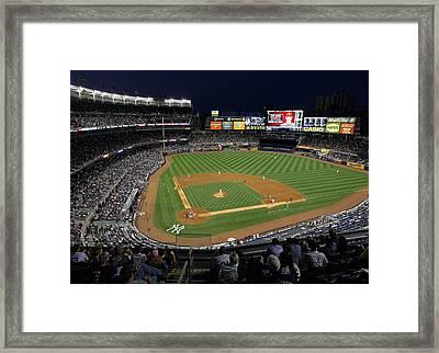 Yankee Stadium 3 Framed Print by Allen Beatty