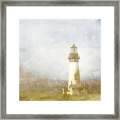 Yaquina Head Light Framed Print