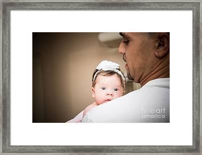 40 7121 Framed Print