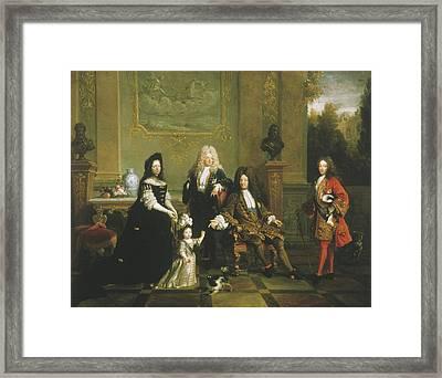 Louis Xiv (1638-1715) Framed Print by Granger