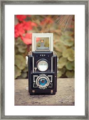 Old Vintage Camera Framed Print by Sabino Parente