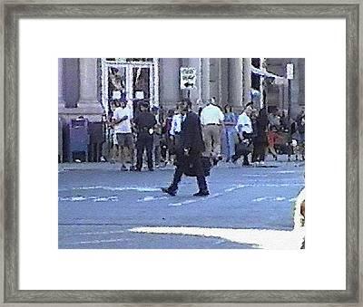 #38 Sands Of Time Framed Print