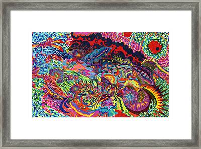 40 Tiles Framed Print by Sean Corcoran