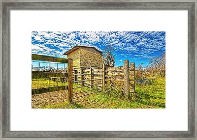 Framed Print featuring the photograph 4011-21-204 by Lewis Mann