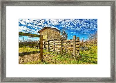 4011-21-204 Framed Print by Lewis Mann