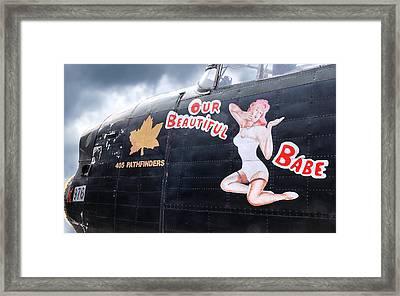 405 Pathfinders Babe Framed Print
