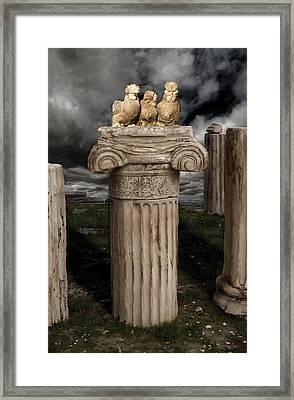 42. Akropolis Burmahs Framed Print by Sigrid Van Dort
