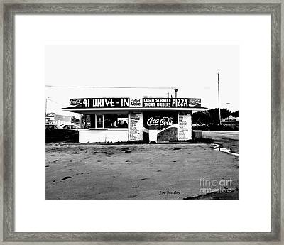 41 Drive In-manchester Tennessee Framed Print by   Joe Beasley
