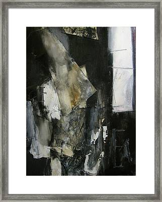 Framed Print featuring the painting Figure by Fred Smilde