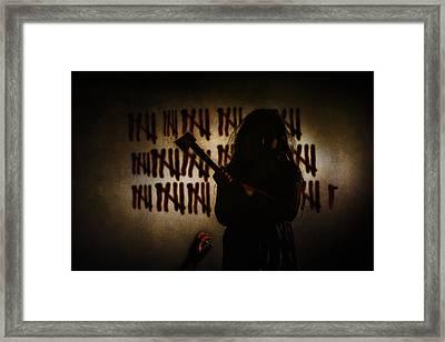41 Framed Print