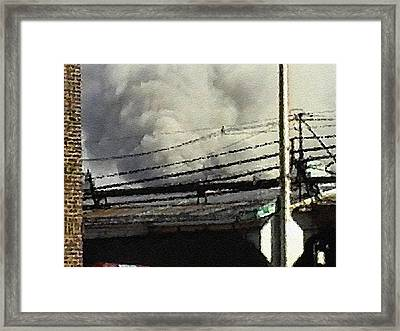Framed Print featuring the digital art #39 Sands Of Time by Kosior