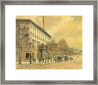Washington, D Framed Print by Granger