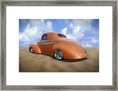 41 Willys Framed Print by Mike McGlothlen