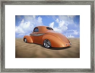 41 Willys Framed Print