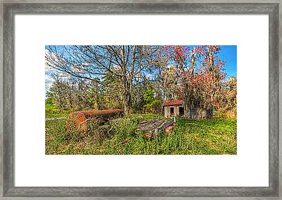 Framed Print featuring the photograph 4103-13-204 by Lewis Mann