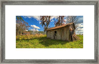 Framed Print featuring the photograph 4180-90-204 by Lewis Mann