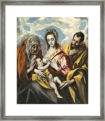 Greco, Dom�nikos Theotok�poulos, Called Framed Print by Everett