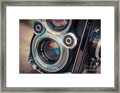 Old Vintage Camera Framed Print by Sabino Parente