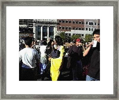 #45 Sands Of Time Framed Print
