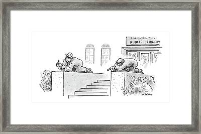 New Yorker February 13th, 2006 Framed Print by Mike Twohy