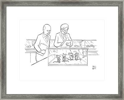 New Yorker June 8th, 2009 Framed Print by Paul Noth