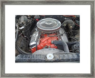 427 Chevy Framed Print by Randy Stamper