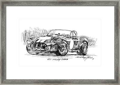 427 Shelby Cobra Framed Print