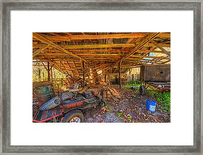 Framed Print featuring the photograph 4282-92-205 by Lewis Mann