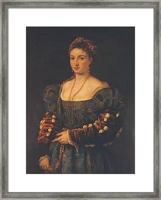 Italy, Tuscany, Florence, Palazzo Framed Print