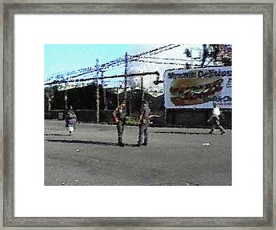 Framed Print featuring the digital art #40 Sands Of Time by Kosior