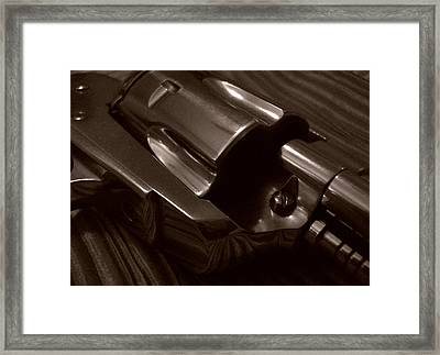 Framed Print featuring the photograph 44 40 by Ben Kotyuk