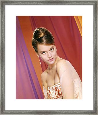 Jane Fonda Framed Print by Silver Screen