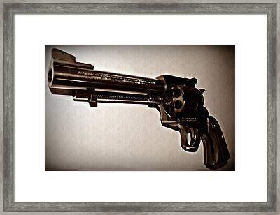 44 Magnum Framed Print by David Dehner