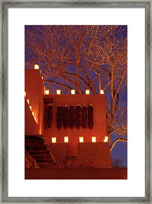 Santa Fe, New Mexico, United States Framed Print by Julien Mcroberts