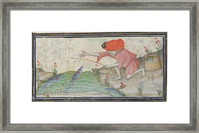 Book Of Hours Framed Print by British Library