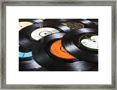 45 Inches Part 1 Framed Print by Jacqueline Moore