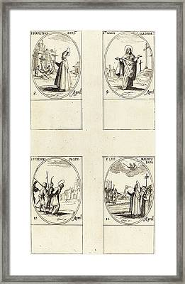 Jacques Callot French, 1592 - 1635 Framed Print